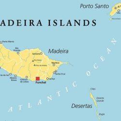 maps Madeira Islands